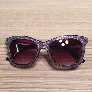 Anthropologie glitter sunglasses 🕶